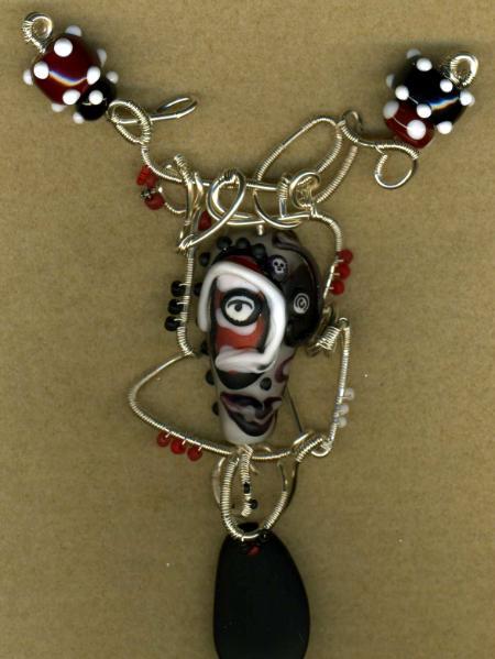 Mask Pendant #2