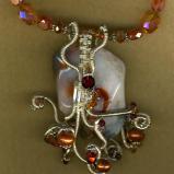 Quartz Wire Wrapped Necklace #2