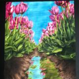 Tulip Reflection