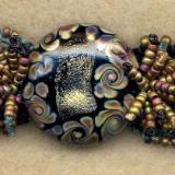 Shangra La (aka Macrame and Rings) Bracelet