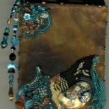 Copper book with a Klew Cabochon