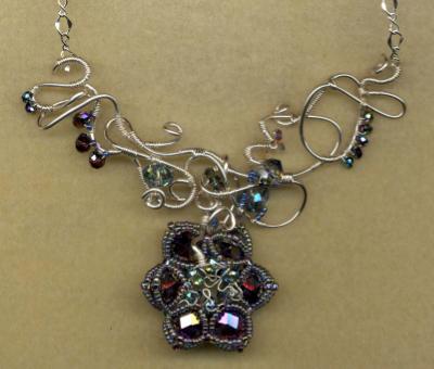 Freeform Wire Necklace #2