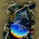 Wire Wrapped Glass by Charlene