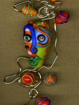 Mask Pendant #1