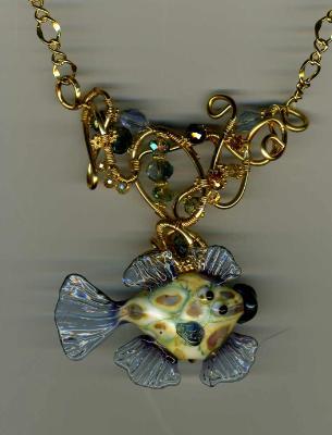 John Rizzi's Fish Necklace